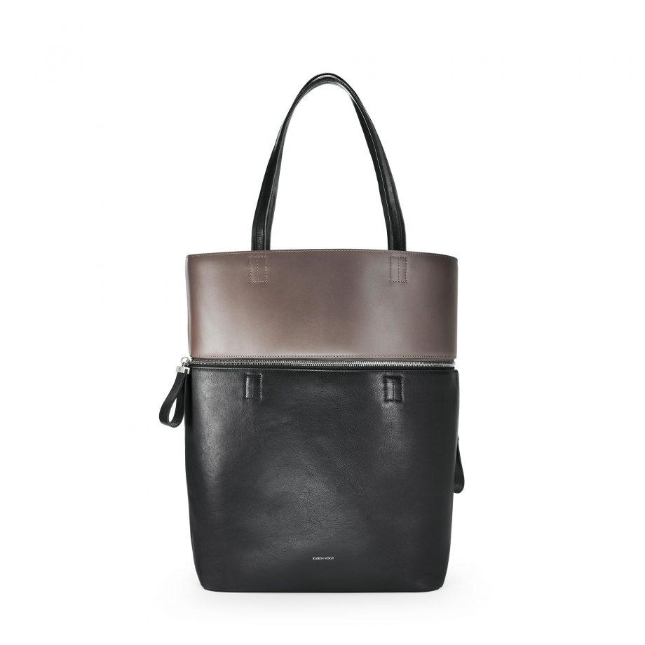 grand-cabas-cuir-lisse-noir-marron-généreux-karenvogt-1