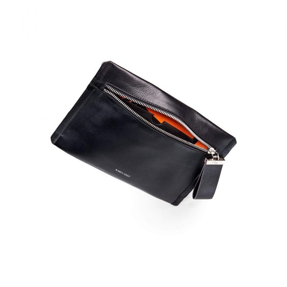 pochette-bandoulière-cuir-lisse-noir-indécise-karenvogt-3