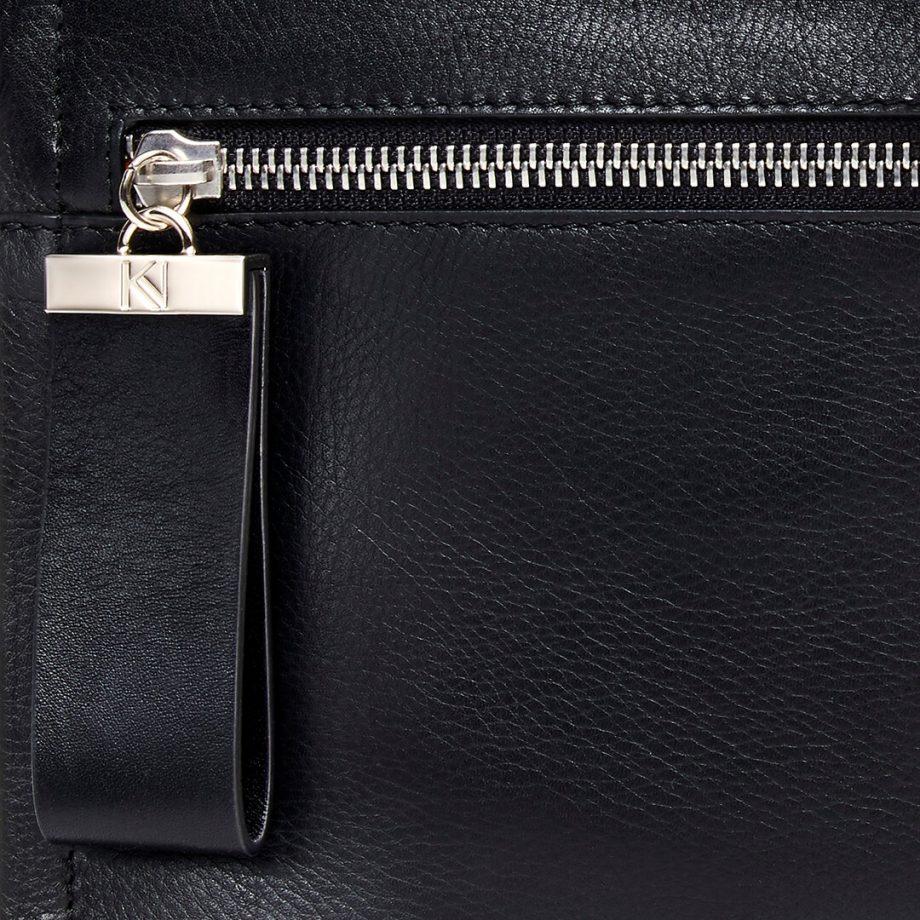 pochette-bandoulière-cuir-lisse-noir-indécise-karenvogt-7