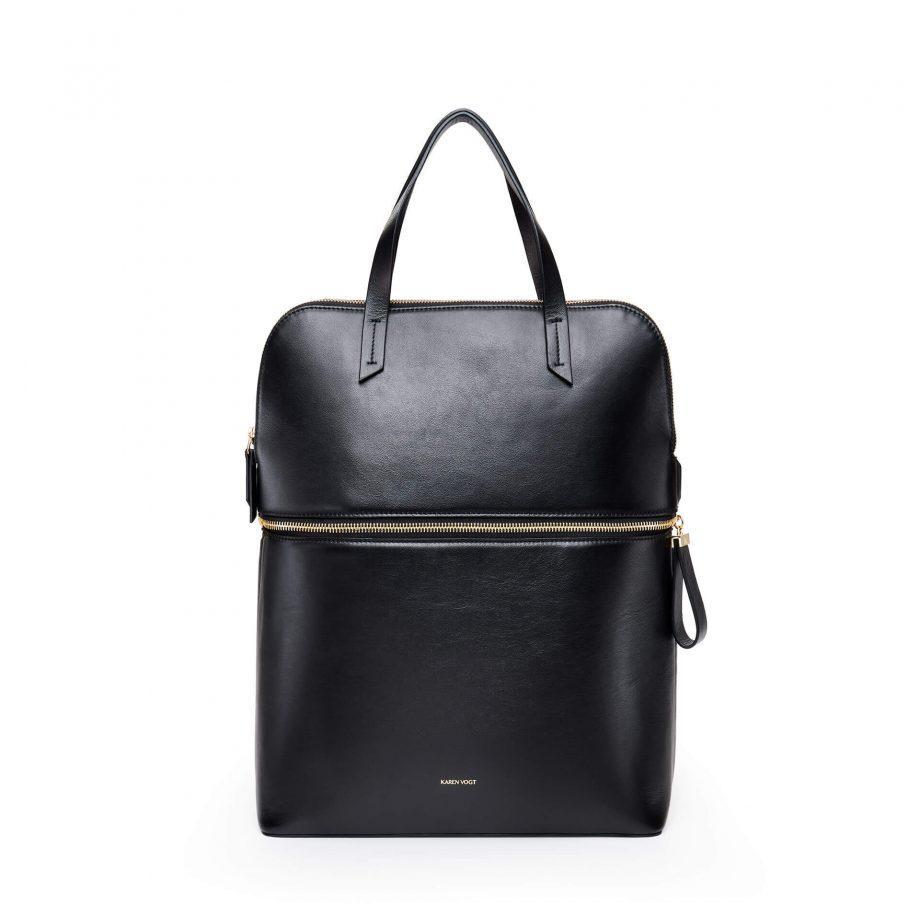sac-ac-dos-cuir-lisse-noir-gold-pragmatique-karenvogt-1