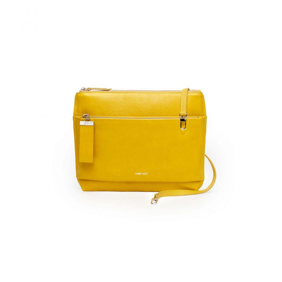 sac-pochette-bandoulière-cuir-grainé-jaune–maïs–espiègle-karenvogt-1