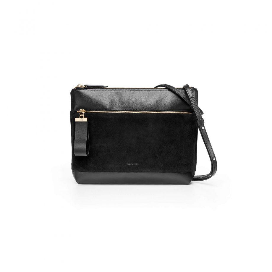 sac-pochette-bandoulière-cuir-suede-noir-espiègle-karenvogt-1