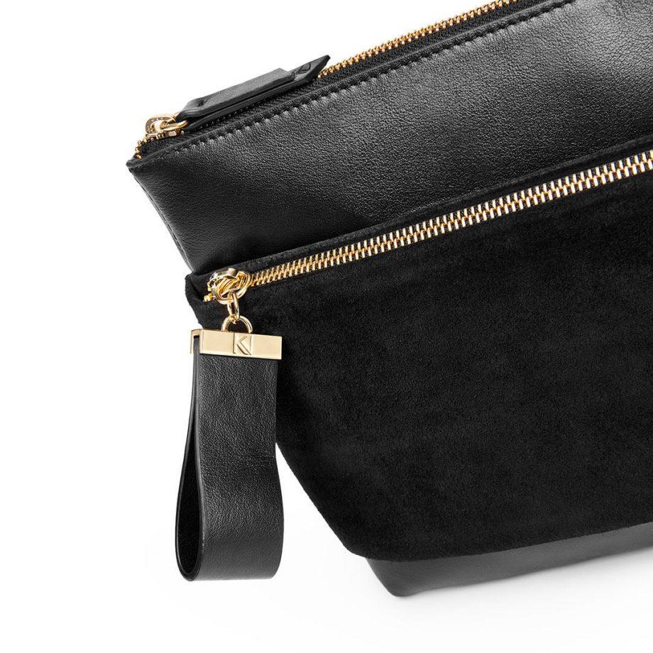 sac-pochette-bandoulière-cuir-suede-noir-espiègle-karenvogt-4