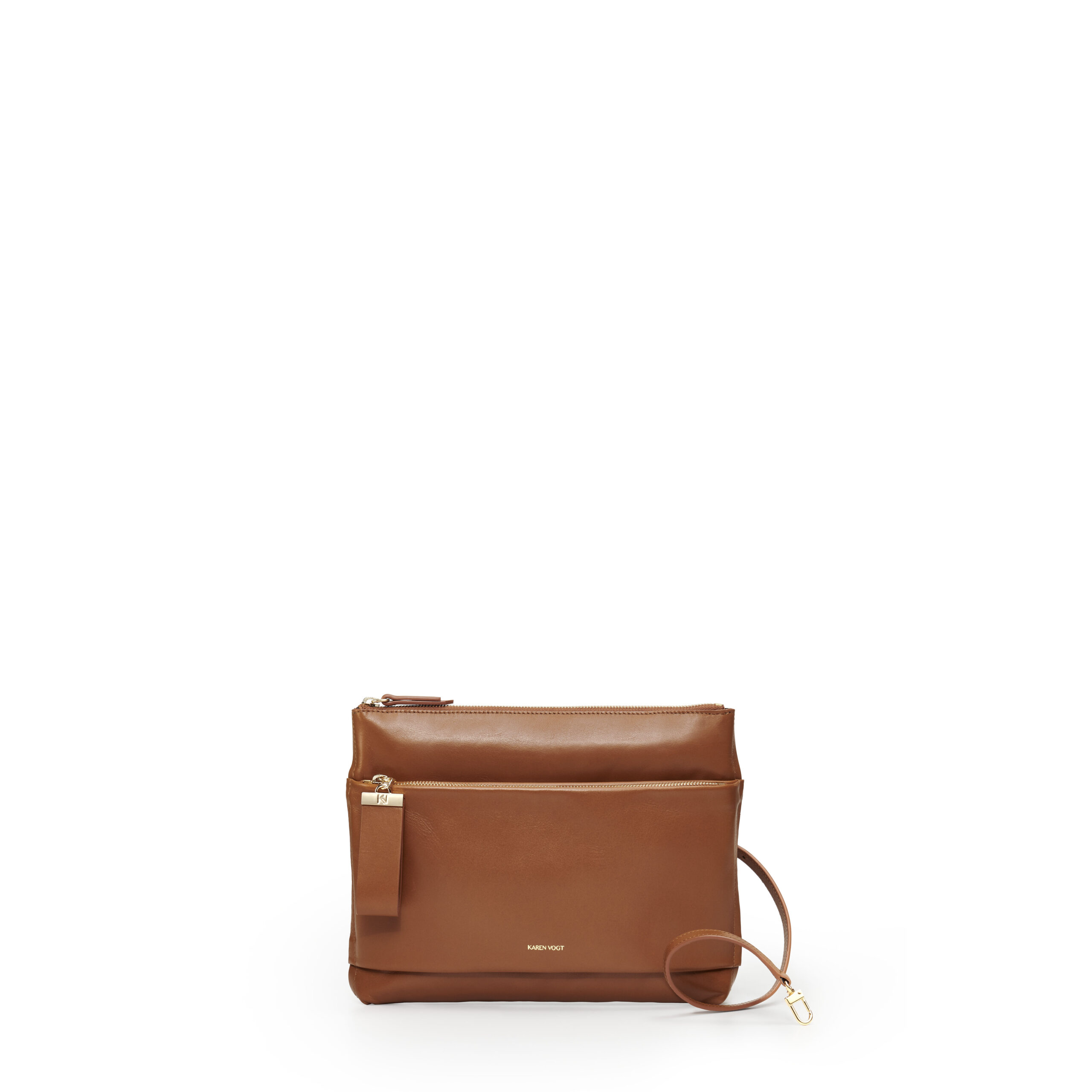 sac-pochette-bandoulière-cuir-lisse-tabac-espiègle-karenvogt-1