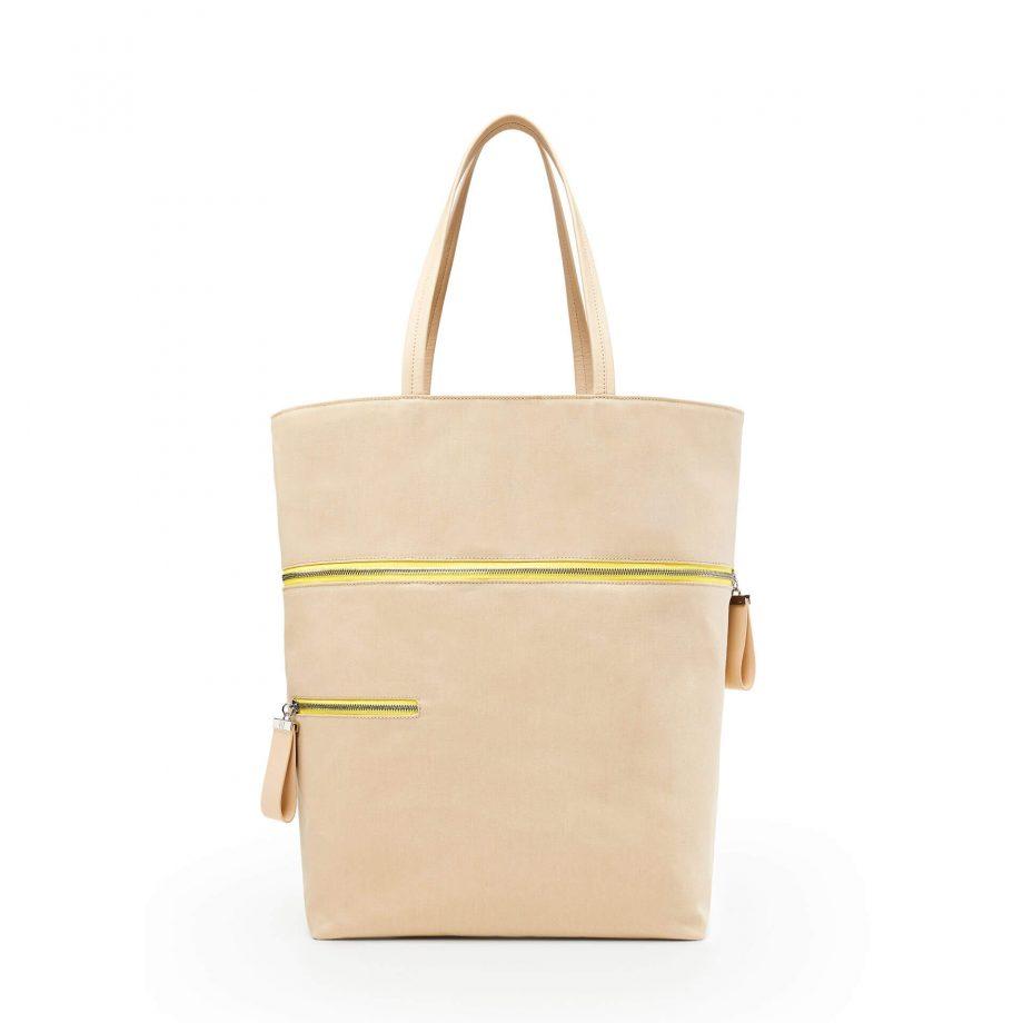 sac-voyage-toile-beige-zip-jaune-téméraire-karenvogt-2