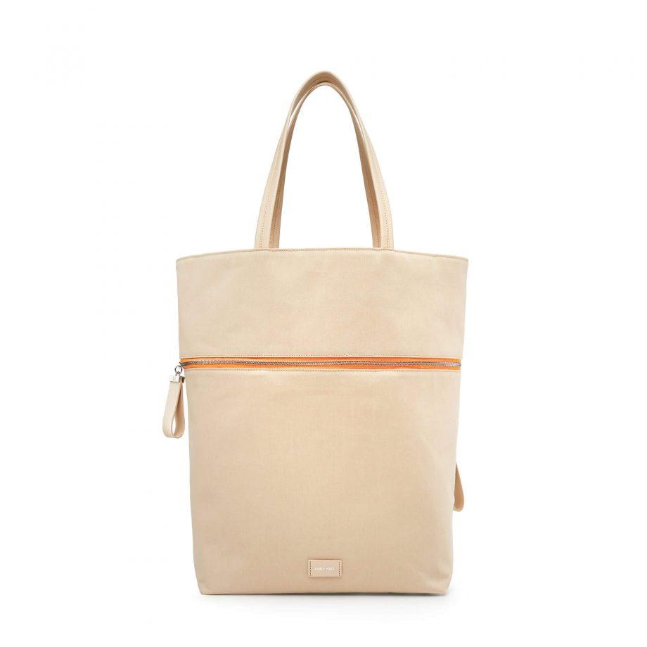 sac-voyage-toile-beige-zip-orange-téméraire-karenvogt-1