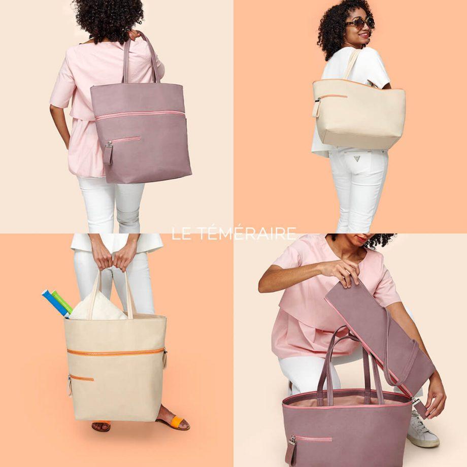sac-voyage-toile-gris-rosé-zip-rose-téméraire-karenvogt-7