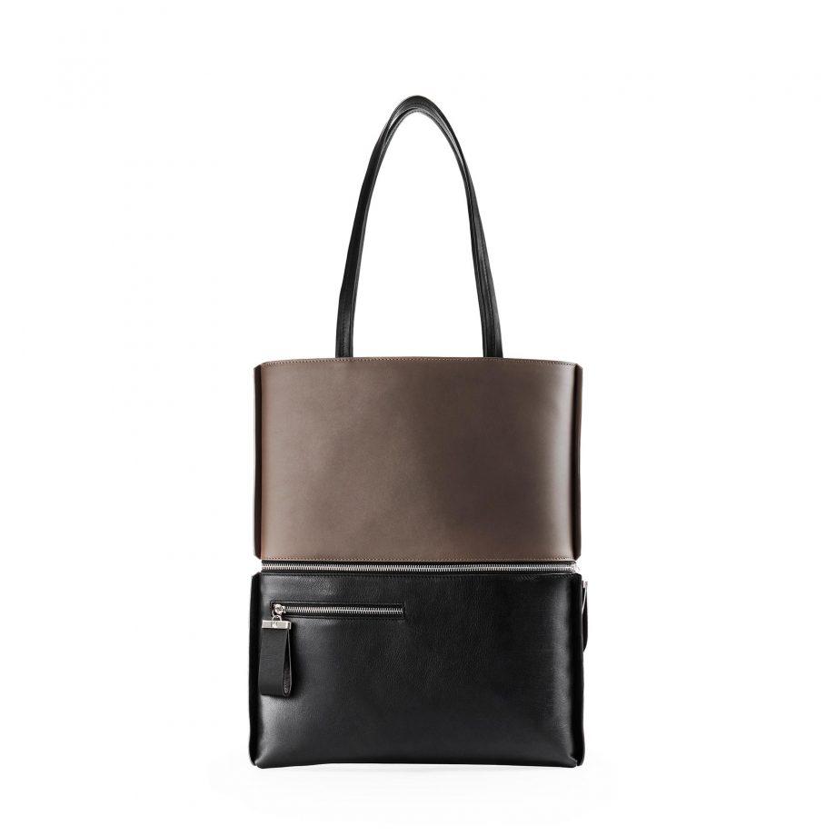 totebag-cuir-bicolore-marron-noir-impeccable-karenvogt-2
