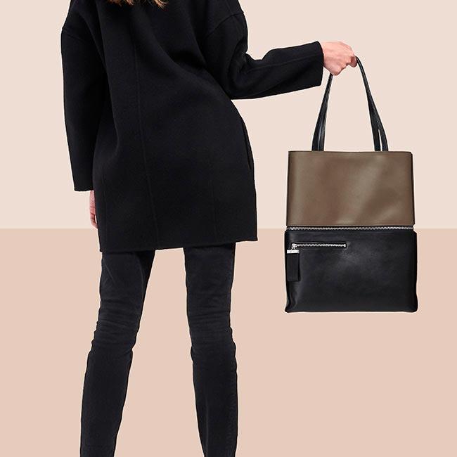 totebag-cuir-lisse-bicolore-marron-noir-impeccable-karenvogt-4