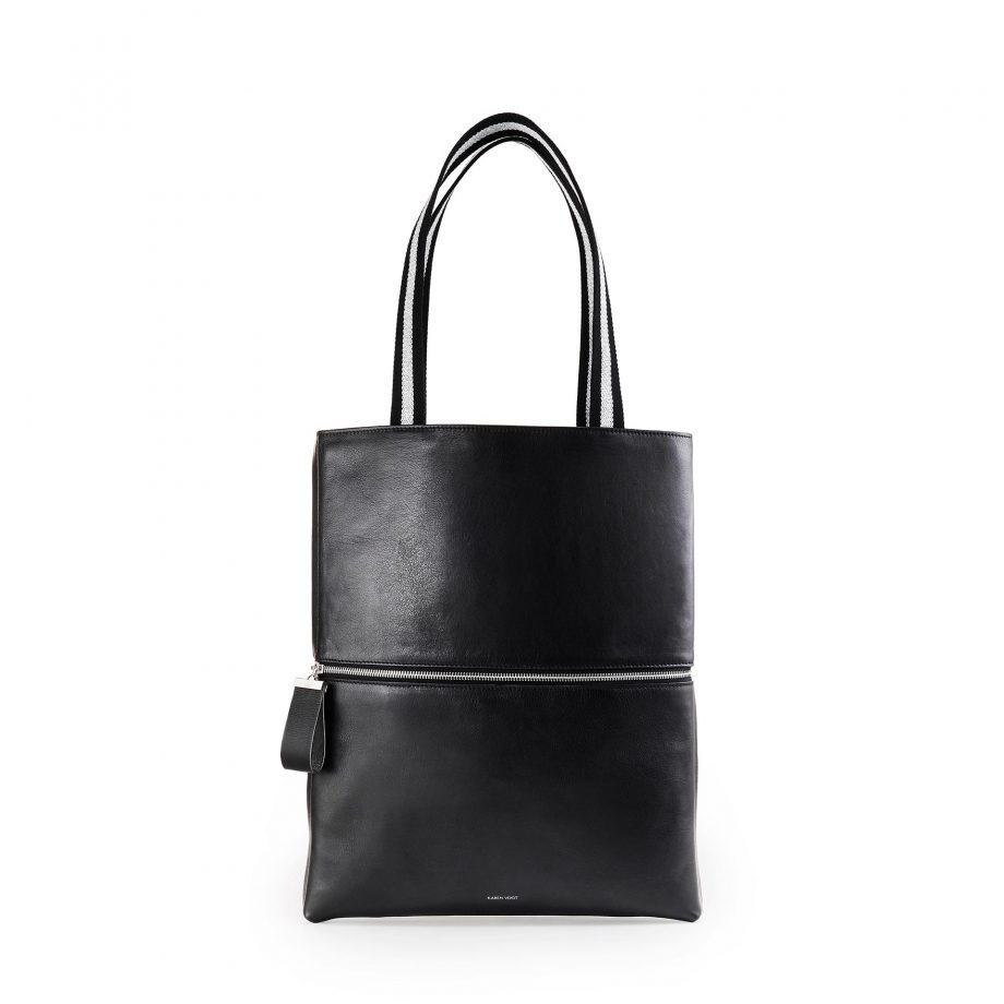 totebag-pochette-cuir-lisse-noir-impeccable-karenvogt-1