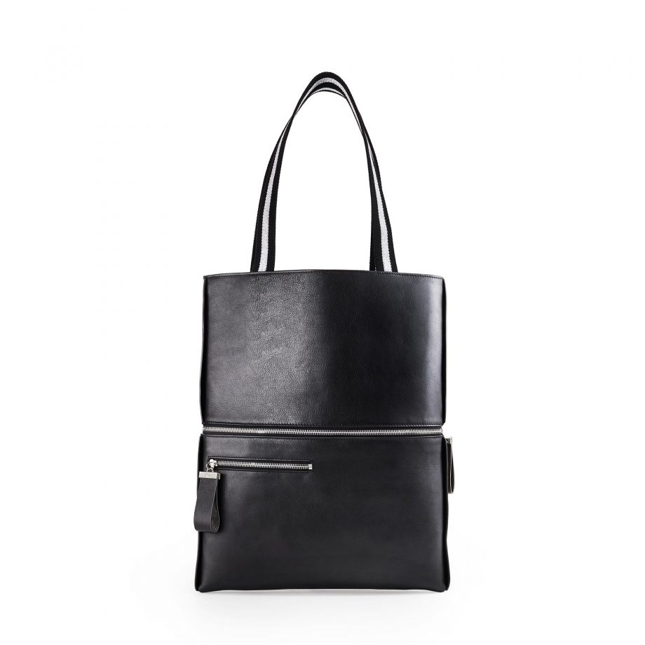 totebag-pochette-cuir-lisse-noir-impeccable-karenvogt-2