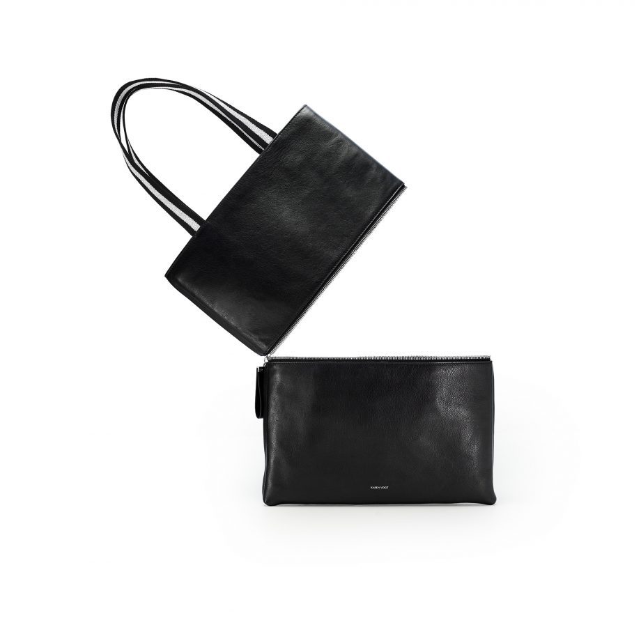 totebag-pochette-cuir-lisse-noir-impeccable-karenvogt-3