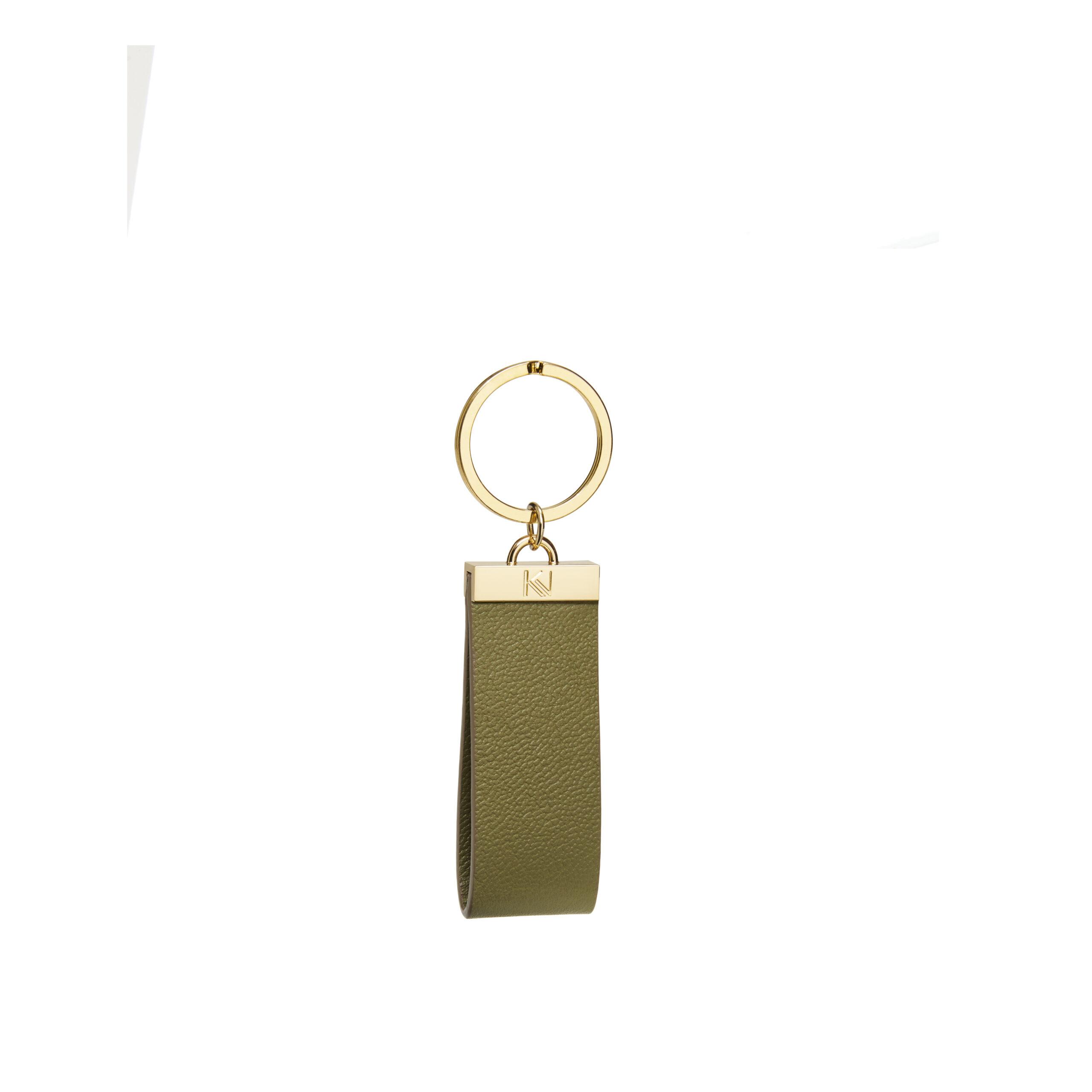 porte-clés-cuir-grainé-kaki-ingénieux-karenvogt-1
