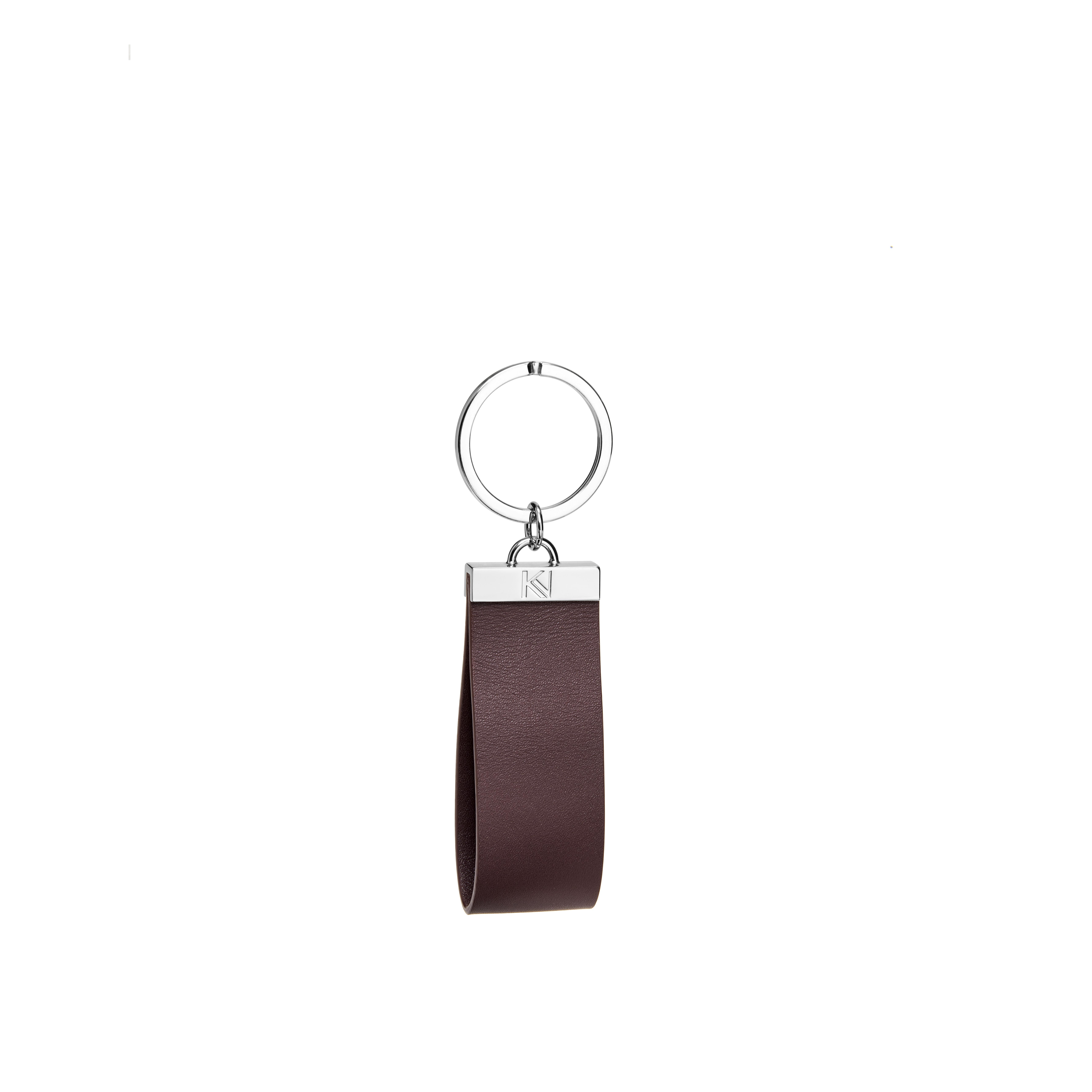 porte-clés-cuir-lisse-aubergine-nickel-ingénieux-karenvogt-1