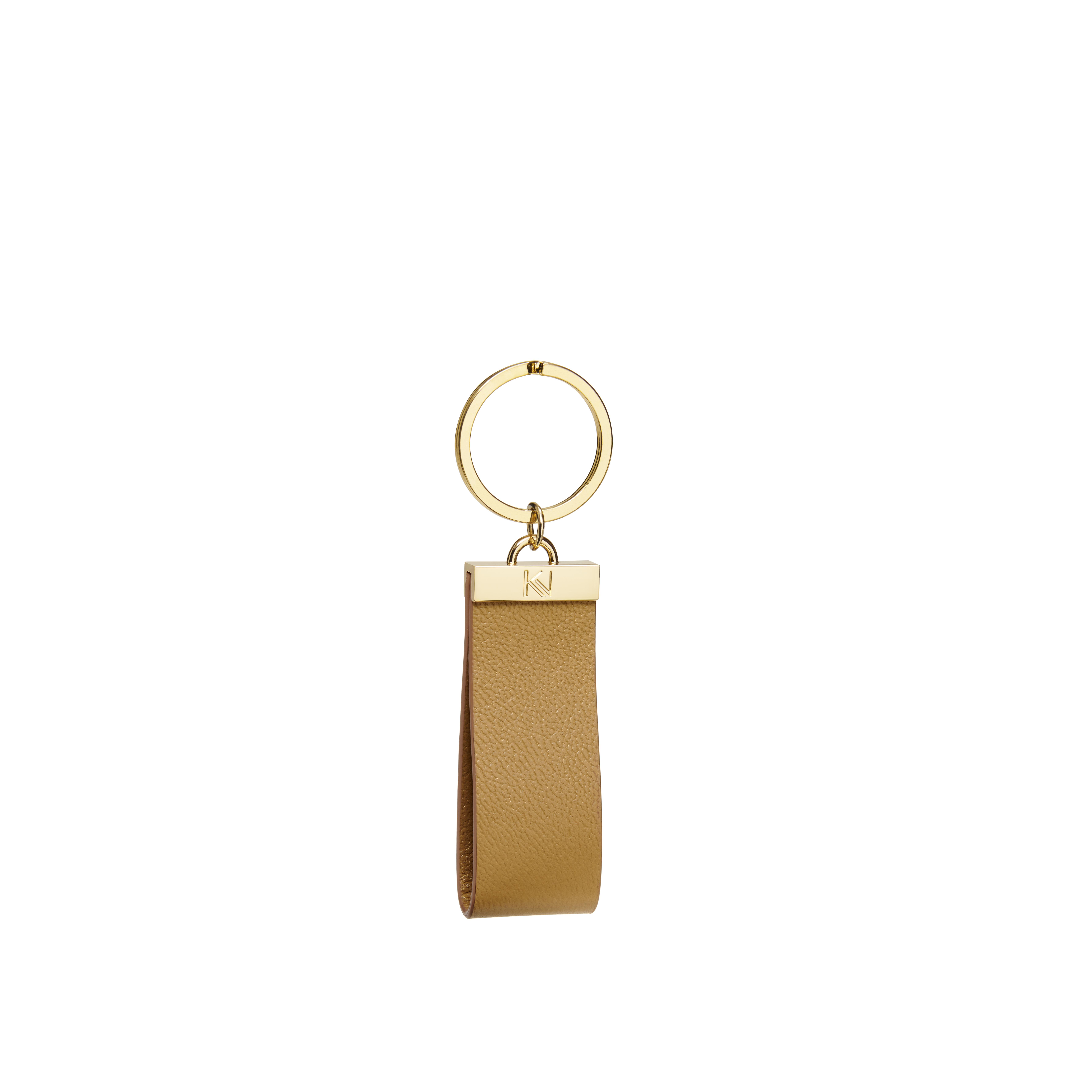 porte-clés-cuir-noisette-gold-ingénieux-karenvogt-1